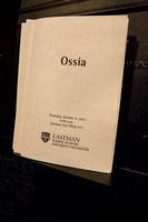 Ossia at Eastman School of Music October 2012