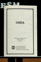 Ossia at Eastman School of Music December 2013