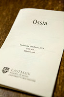 Ossia at Eastman School of Music October 2013